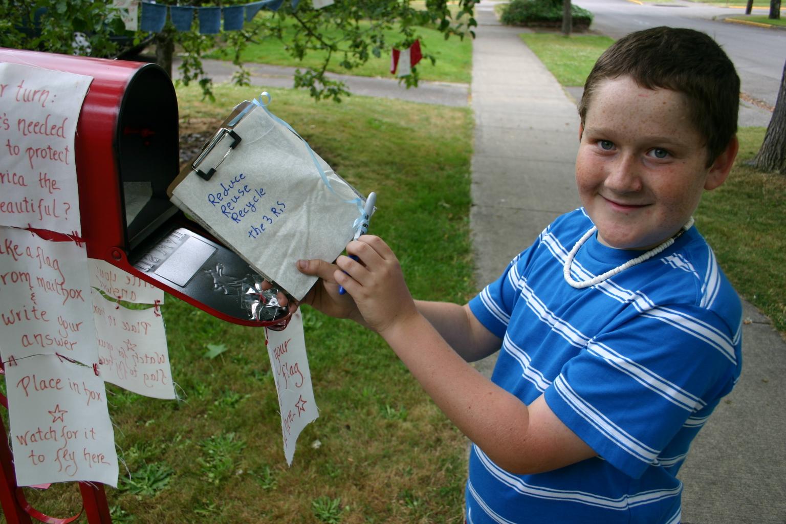 mailbox boy