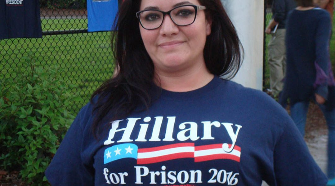 Hillary Will (Probably) Lose for Reasons Only Trump T-shirt Hawkers Dare Mention