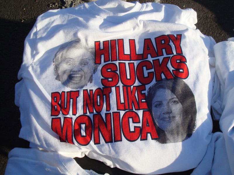Trump Rally protest shirts