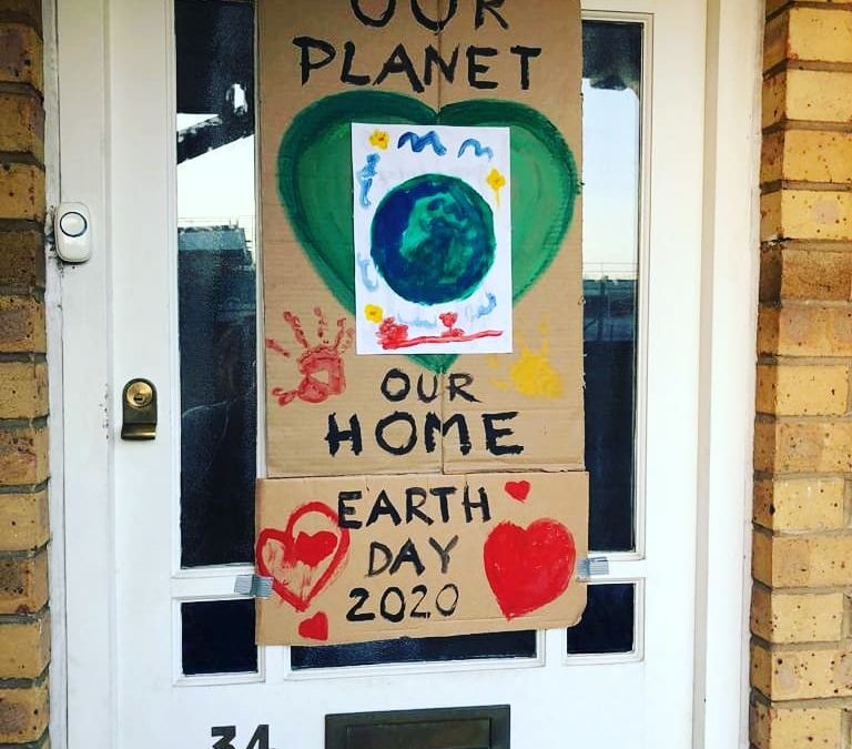 Our Planet, Our Home:     Easy, Artful Ways to Celebrate Earth Day from Home!