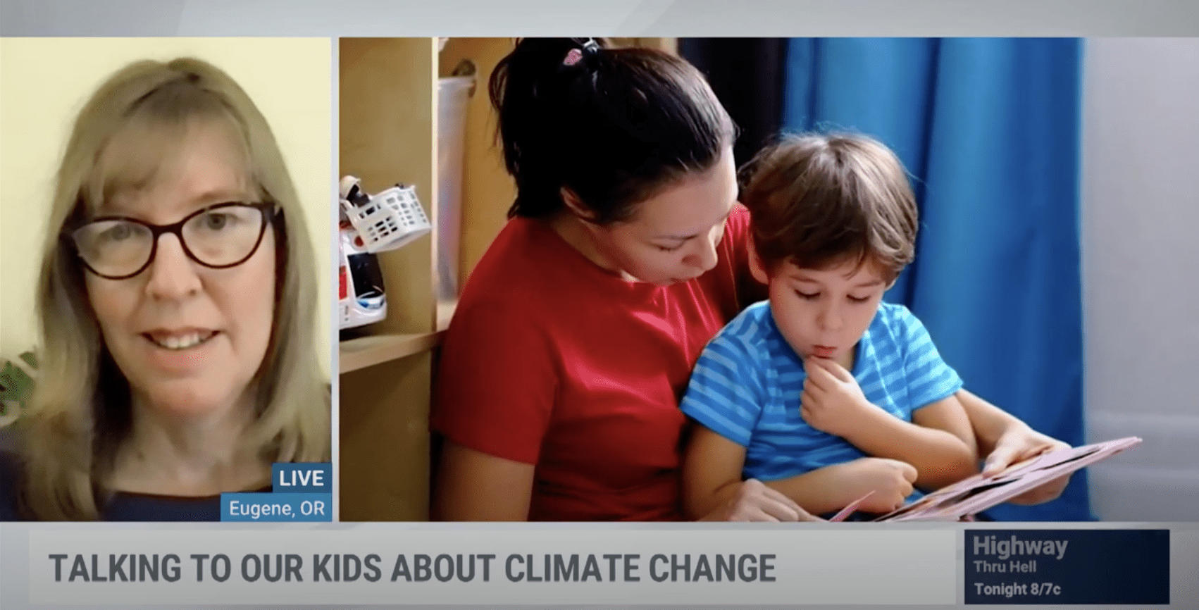 talking to kids about climate change mary democker